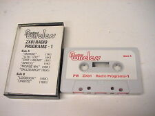 Practical Wireless Radio Programs 1 Tape ZX81 Sinclair Games ltx