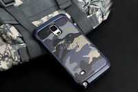 Luxury Camo Camouflage Heavy Duty Army Case Cover For Samsung Galaxy Note 8 5 4