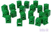 LEGO - 20 x Konverter - Stein 1x1 grün / Green Brick Headlight / 4070 NEUWARE