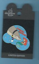 Ariel & Shark Wana Trade Authentic WDW Disney Little Mermaid LE Pin on card