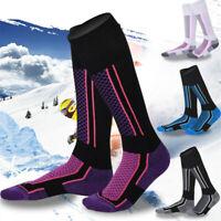 Skisocken Skistrümpfe Sportsocken Herren Ski Strümpfe Socken Funktionssocke Dame
