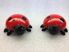 2 Lady Bug  Kitchen Timers With Magnets for Fridge lot of 2