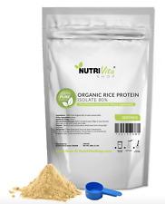 5lb 100% ORGANIC RICE PROTEIN PRO ISOLATE NON-GMO HIGH PROTEIN VEGAN USP GRADE
