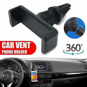 Mobile Phone Car Air Vent Mount Cradle Holder Universal 360° Rotating for GPS UK