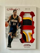 2017-18 Panini Flawless Danny Granger Dual Jersey Patch 6/15 Ruby Indiana Pacers