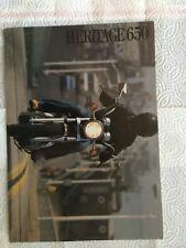 Yamaha 1983 Heritage 650 Motorcycle Brochure
