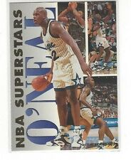 1993-94 FLEER BASKETBALL NBA SUPERSTARS SHAQUILLE O'NEAL #16 OF 20 ORLANDO MAGIC