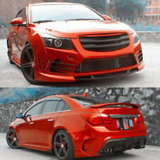 PP Front+Rear Bumper Bodykit Snap Type For Chevrolet Cruze 2011-2014 Auto Refit