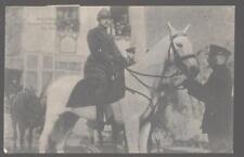 Postcard BRUSSELLS,BELGIUM  Military Joyeuse Entree 1918