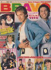 BRAVO #6 vintage teen - music magazine - MIAMI VICE - EUROPE