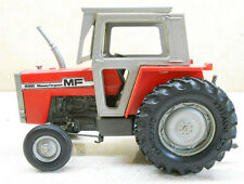COLLECTIBLE TRACTOR MODEL MASSEY FERGUSON MF 595 PRODUCED BY BRITAINS DAMAGED(4)