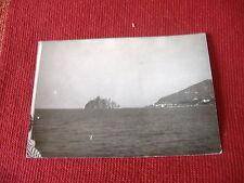 1940 FOTOGRAFIA CON VEDUTA DEL CASTELLO ARAGONESE DI ISCHIA