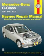 HAYNES REPAIR WORKSHOP MANUAL: MERCEDES-BENZ C-CLASS