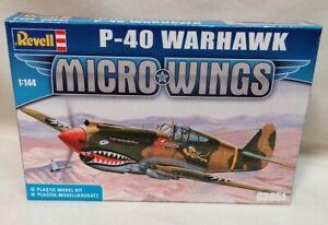 MODEL KIT - *New & Sealed* 1:144 Revell P-40 Warhawk Micro Wings Plastic Kit
