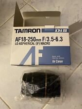 Tamron AF 18-250mm f/3.5-6.3 Di II LD ASPH