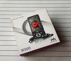 Sony ericsson W995 mobile vintage rare phone