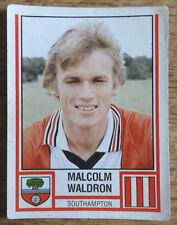 Panini football sticker 1981, Malcom Waldron, Southampton, 267