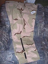 Genuine Military Goretex Pants XL Desert Camo Pants Cold Weather Camo Rain Pants