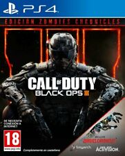 Call of Duty Black Ops III Ed. Zombies Chronicles PS4 (SP)