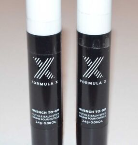 Lot of 2 - Formula X by Sephora Quench To-Go Cuticle Balm Stick - 0.08 oz