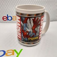 Marvel Spiderman Incredible Hulk Coffee Cup Mug 2003 Sherwood Brands