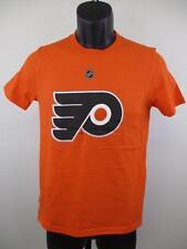 New-Minor Flaws-Philadelphia Flyers #28 Giroux Youth Medium (10/12) Orange Shirt