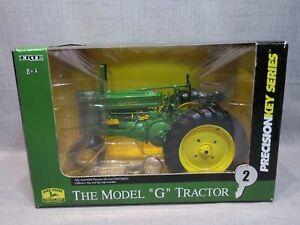 Ertl John Deere 1:16 scale Precision Key Series #2 Model 'G' Tractor #15307 NIB