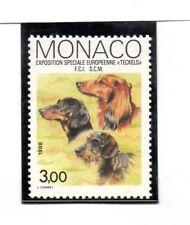 Monaco Fauna Perros serie del año 1988 (BW-718)