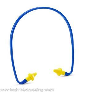 6 Pairs Banded-Ear Plugs-Ear Defenders - B Brand -  £1.99 Each