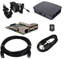 Raspberry Pi 3 Official Desktop Starter Bundle, 16GB, Black