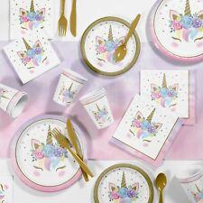 Unicorn Baby Birthday Party Supplies Kit