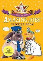 STAR PAWS _ AMAZING JOBS STICKER BOOK ____ BRAND NEW ____ FREEPOST UK