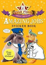 STAR PAWS _ AMAZING JOBS STICKER BOOK ____ BRAND NEW ____ FREEPOST UK