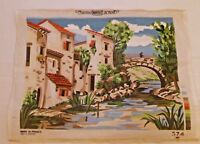 Needlepoint Margot Creations de Paris 15 x 20 (Partially worked at top see pic)