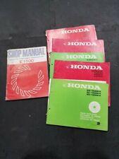 honda generator E EC ED EG EM EX 300 550 650 800 1000 1500 3500 parts catalogues
