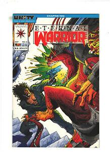 Eternal Warrior #2 NM- 9.2 Valiant Comics 1992 Unity pt.10