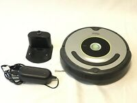 iRobot Roomba 630 Robot Vacuum With Charging Dock Replaced Battery Works Great