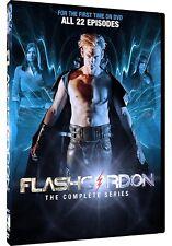 FLASH GORDON (2007) - Eric Johnson, COMPLETE SyFy US TV Series Season NEW DVD R1