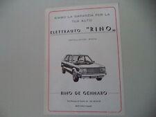 Advertising Advertising 1983 Motor Rino de Gennaro-NOLA