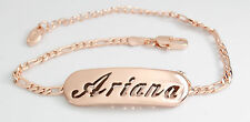 ARIANA - Bracelet With Name - 18ct Rose Gold Plated - Gifts For Her