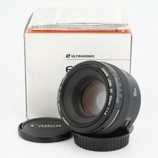 Canon EOS EF 50mm F/1.4 USM Lens