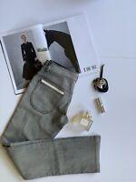 NWT!!! DIOR  Grey Straight Jeans/ Bottom. Size: Women(XXS/ XS), Girl(12+).
