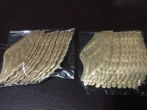 Angel Wings Crafts For Dolls- Gold 12 Sets
