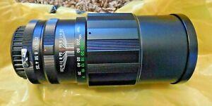 Telephoto Camera Lens for 35mm - Soligor - Excellent Condition