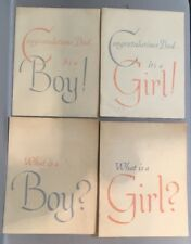 1950s New England Mutual Life Insurance advertising Alan Beck What is a Girl/Boy