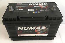 12V 105AH Numax LV30MF HD Ultra Deep Cycle Leisure Marine Battery - NCC Verified