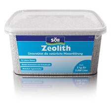Söll Zeolith 5 kg für 5000 L Teichpflege zur Unterstützung natürlicher Wasser