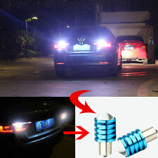 2Pcs 1156 BA15S P21W 5W 12V High Power CREE Q5 LED Car Bulb White Reverse Light