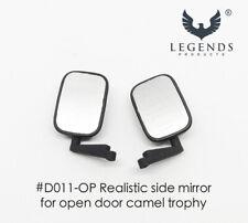 Realistic Side Mirror for RC Camel Trophy, Open door version