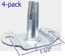 """Oajen caster socket furniture insert for 5/16"""" x 1-1/2"""" stem, 4-pack"""